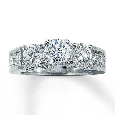Kays Diamond Wedding Ring Set Gold