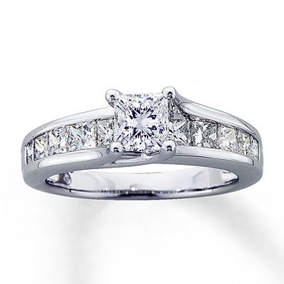 Wedding Rings Kay Jewelry.Top 10 Punto Medio Noticias Princess Cut Diamond Engagement Rings