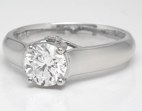 """Surprise"" Solitaire Diamond Engagement Ring"