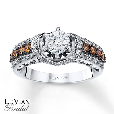 Kay Jewelers Chocolate Diamond Engagement Rings