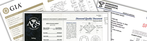 About Diamond Certificates