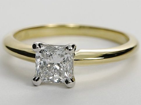 Classic Yellow Gold Solitaire Engagement Ring